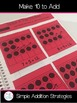 Simple Addition Strategies: Interactive Notebook Activities