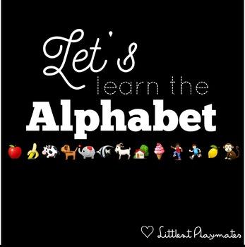 Simple Alphabet Cards