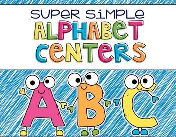Simple Alphabet Centers