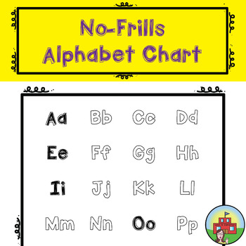 Alphabet Poster (Ink Saver)
