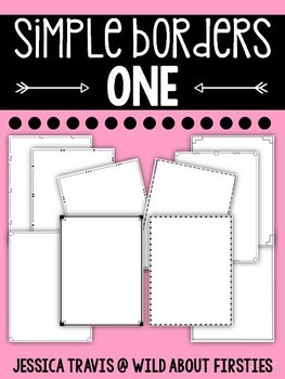 Simple Borders ONE {10 Simple Page Borders}
