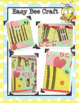 Bee Mine Simple Valentine Craft, Glyph, and More