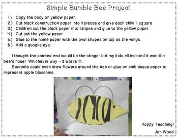 Simple Bumble Bee Project