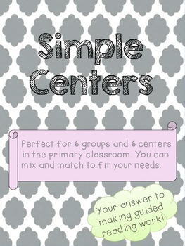 Simple Center Management System that WORKS for the primary