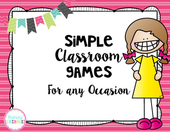 Simple Classroom Games for Any Occasion