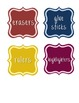 Simple Classroom Labels