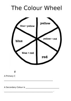 Simple Colour Wheel