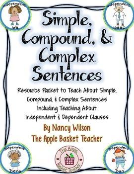 Simple, Compound, & Complex Sentences