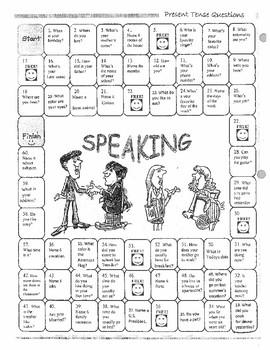 Simple Conversational Sentences Game