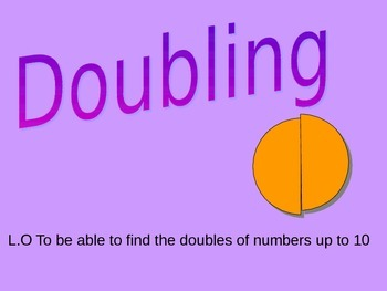 Simple Doubling of numbers