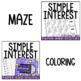 Simple Interest Activity Pack