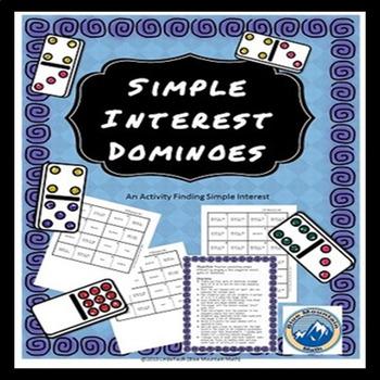 Simple Interest Domino Set