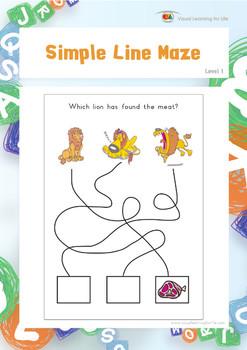 Simple Line Maze