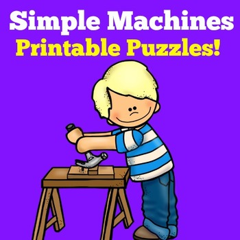 Simple Machines Activities | Simple Machines Craft | Simpl