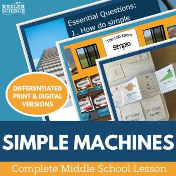 Simple Machines Complete 5E Lesson Plan