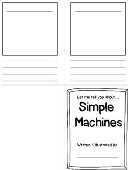 Simple Machines Book-- FREEBIE