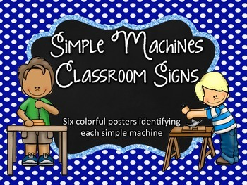 Simple Machines Signs/Posters