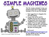 Simple Machines: Flipbook and Models Make and Take Materials