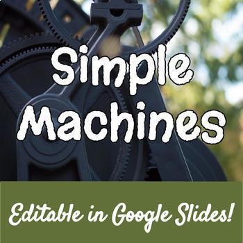Simple Machines Lesson & WebQuest