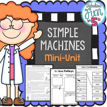 Simple Machines Mini-Unit