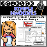 Simple Machines Science Interactive Notebook Activities