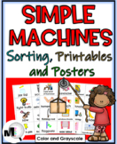 Simple Machines Sorting Activities, Printables, and Scienc