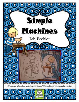 Simple Machines Tab Booklet