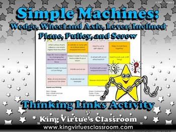 Simple Machines Thinking Links #1 - King Virtue's Classroom