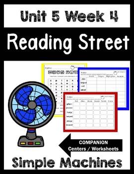 Simple Machines. Unit 5 Week 4 Reading Street.Centers/Work