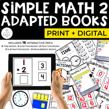 Simple Math 2 Adapted Books