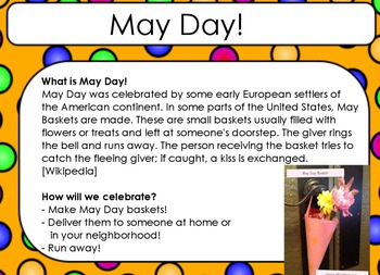 Simple May Day Flipchart