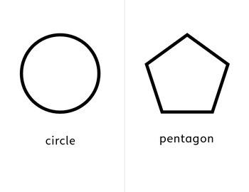 Simple Montessori Style Shapes
