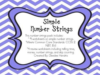 Simple Number Strings
