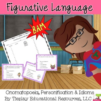Onomatopoeia, Personification and Idioms