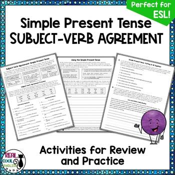 Simple Present Tense: Subject Verb Agreement