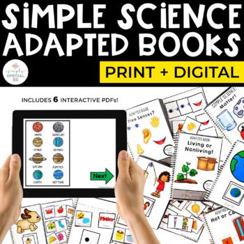 Simple Science: Adapted Comprehension Book Bundle