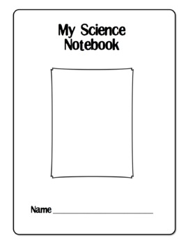 Simple Science Notebook - To Record Daily Notes and Observ