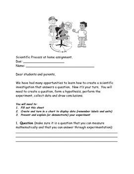 Simple Scientific Inquiry and investigation Home Assignment