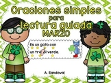 Simple Sentences for Guided Reading in Spanish-MARCH Lectu