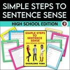 Simple Steps to Sentence Sense for High School