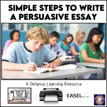 Simple Steps to Writing a Persuasive Essay Google Drive Di