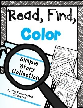 Simple Stories Read, Find, Color