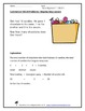 Simple Subtraction Word Problems Pack