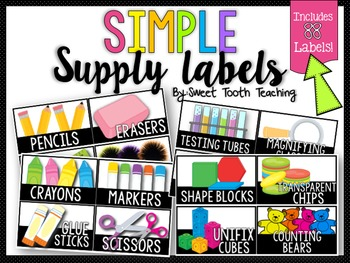 Simple Supply Labels