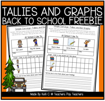 Simple Surveys: Tallies and Bar Graphs for Back to School