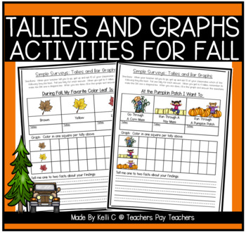 Simple Surveys: Tallies and Bar Graphs for Fall