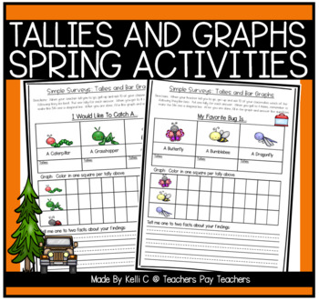 Simple Surveys: Tallies and Bar Graphs for Spring (April- Easter)