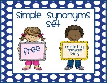 Simple Synonyms Set