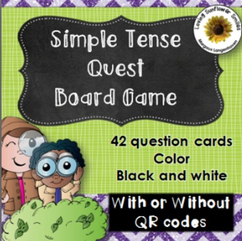 Simple Tense Board Game