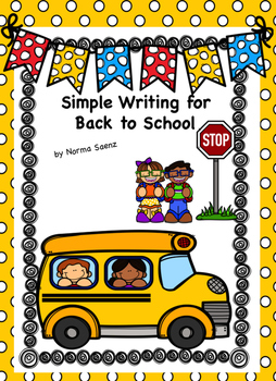 Simple Writing for Back to School